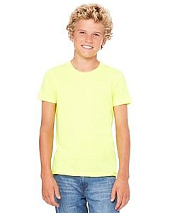 Bella + Canvas Youth Short Sleeve Jersey T-Shirt