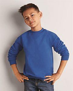 Gildan Mid Weight 50/50 Blend Youth Crewneck Sweatshirt