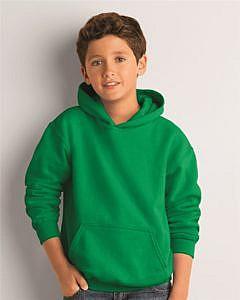 Gildan Mid Weight 50/50 Blend Youth Hooded Sweatshirt