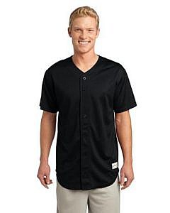 Sport-Tek® PosiCharge® Tough Mesh Full-Button Jersey