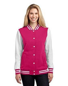 Sport-Tek-« Ladies Fleece Letterman Jacket