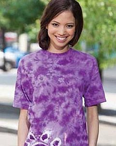 Tie-Dyed - Pawprint Short Sleeve T-Shirt
