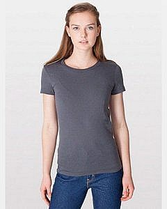 American Apparel Junior's Fine Jersey T-Shirt