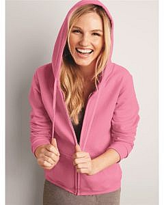 Gildan Heavy Blend Women's Full-Zip Hooded Sweatshirt
