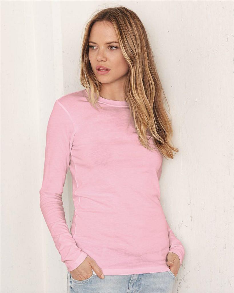 Bella + Canvas Juniors Long Sleeve Jersey T-Shirt