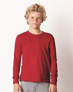 Bella + Canvas Youth Long Sleeve Jersey Tee