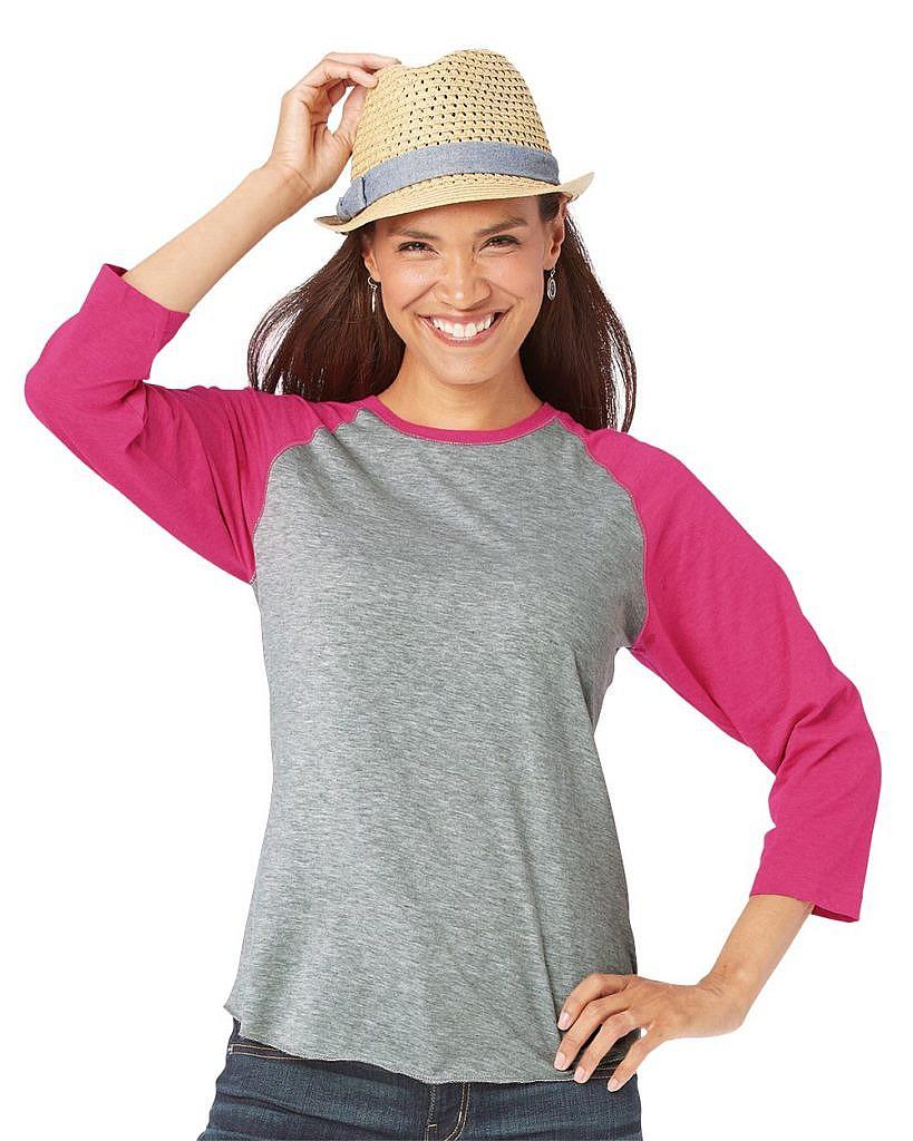 LAT Women's Fine Jersey Baseball T-Shirt