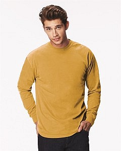 Comfort Colors Ringspun Garment Dyed Long Sleeve Shirt