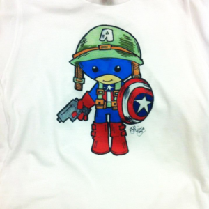 Dye Sublimation - Captain America