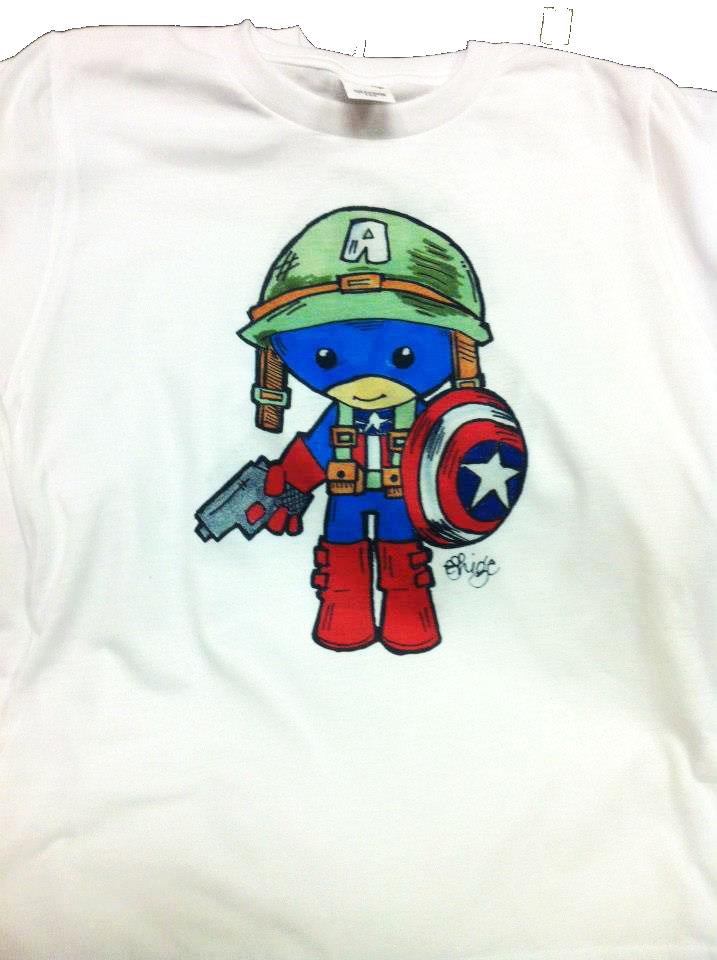 Dye Sublimation - Captain America