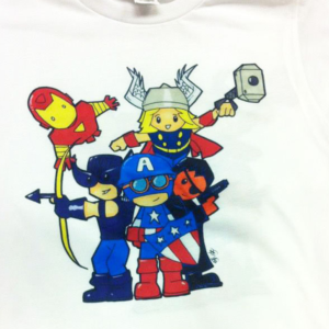 Dye Sublimation - Captain America And Friends