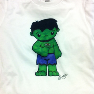 Dye Sublimation - Incredible Hulk Baby