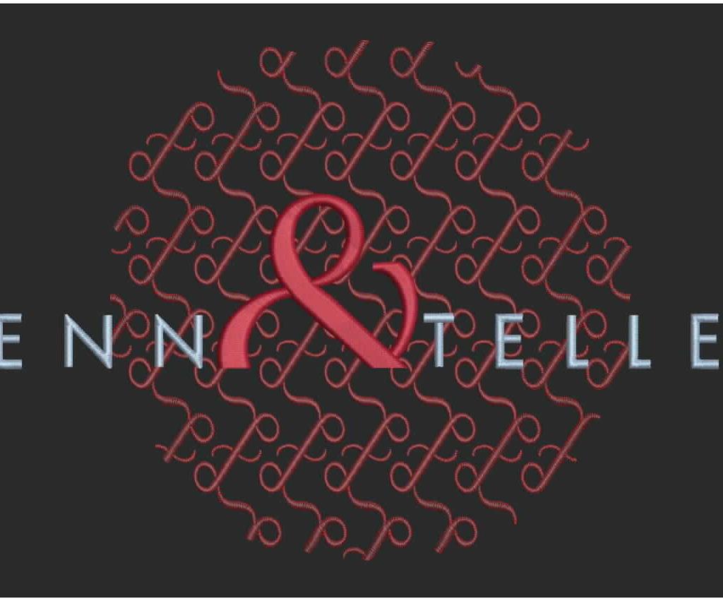 Penn & Teller Custom Embroidered Jacket