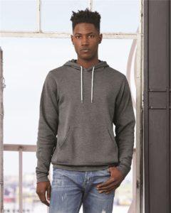 Bella + Canvas - Unisex Hooded Pullover Sweatshirt - 3719
